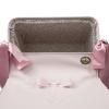 coche-minisweet-rosa-2034RCHR-chasis rosa-vista interior capota-beblux-juguetes