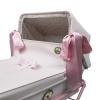 coche-minisweet-rosa-2034RCHR-chasis-rosa-vista-lazos-laterales-bebelux-juguetes