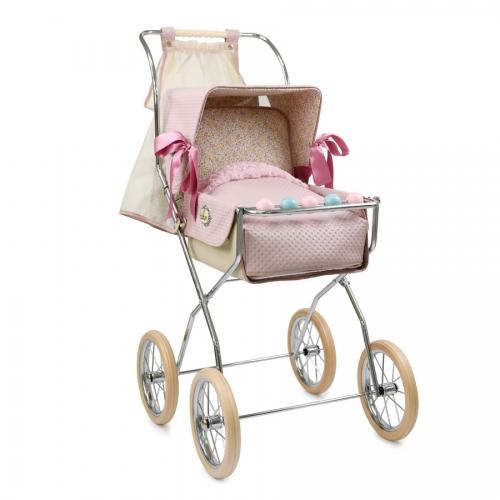 Silla Vintage Reborn rosa empolvado de Bebelux Juguetes