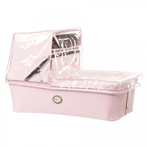 Bebelux | Baby Pink High Pram Rain Cover