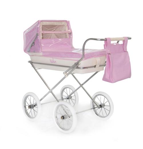 Burbuja de coche pequeño rosa de Bebelux Juguetes