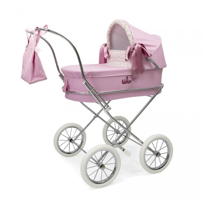0e28bff15 coche-romantic-rosa-2452R-bebelux-juguetes