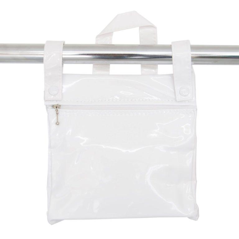 Bolso panera charol blanco de Bebelux Juguetes