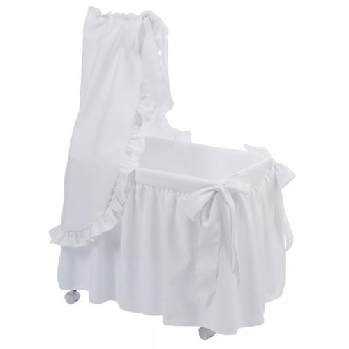 Bebelux   White bassinet