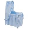 Bebelux | Light blue bassinet