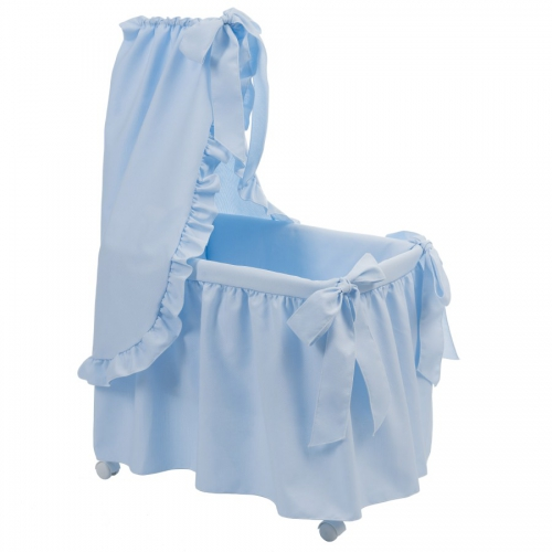 Bebelux | Light blue bassinet