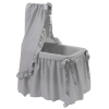 Bebelux | Grey bassinet with white stars