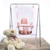 columpio-rosa-empolvado-de-Bebelux-Juguetes-con-reborn-y-suelo-2560R-bebelux-juguetes