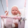 columpio-rosa-empolvado-de-Bebelux-Juguetes-deatlle-bebé-2560R-bebelux-juguetes