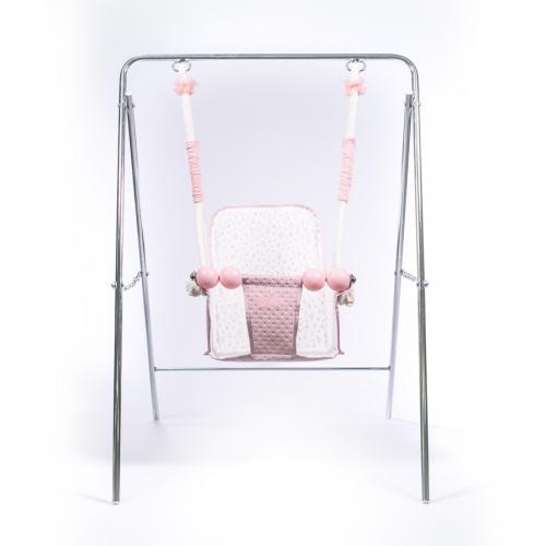 columpio-rosa-empolvado-sin-bebé-2560R-bebelux-juguetes