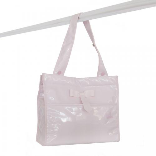 Bolso bandolera charol rosa de Bebelux Juguetes