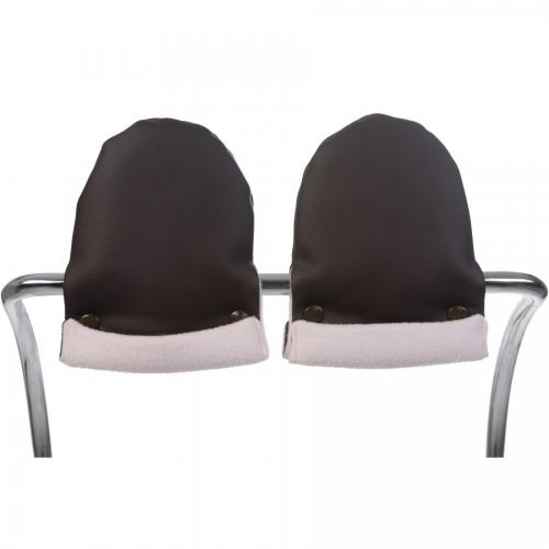 Bebelux | Chocolate mittens