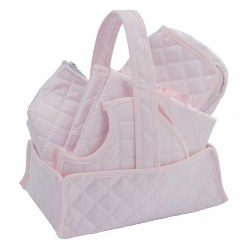 Bebelux   Newborn Pink Basket Set   Exclusive on-line
