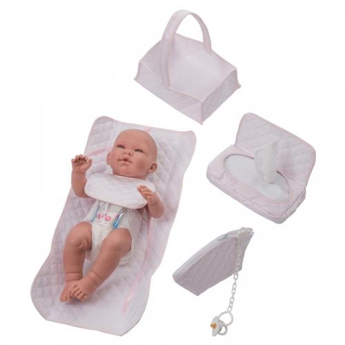 Bebelux   Newborn Pink Basket Set, detail   Exclusive on-line