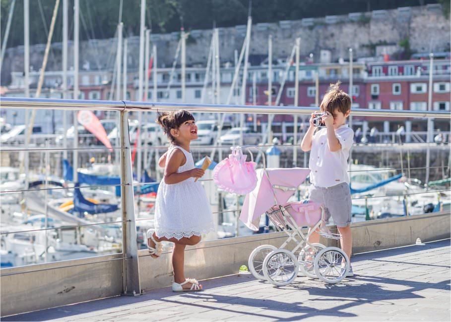 Carritos de Muñecas y Sillas de Muñecas de Bebelux Juguetes-Réplicas de juguete de coches y sillas de bebé inspirados en el estilo clásico vintage inglés